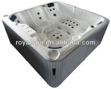 Acrylic Shell Hydro Spa Massage Bathtub for Adults & Child