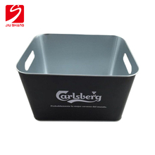 customized design logo tin beer ice bucket with 10L capacity
