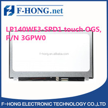 "14"" FHD EDP LED LCD Screen Compatible For LG LP140WF3(SP)(D1) LP140WF3-SPD1 (touch OGS) P/N 3GPW0"
