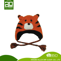 Fashion And Comty Ear Cover Hat Trapper Knit Cap