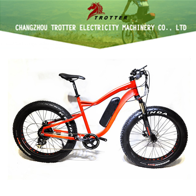 with 13ah lithium battery mountain ebike fat tire 48V electric bicycle