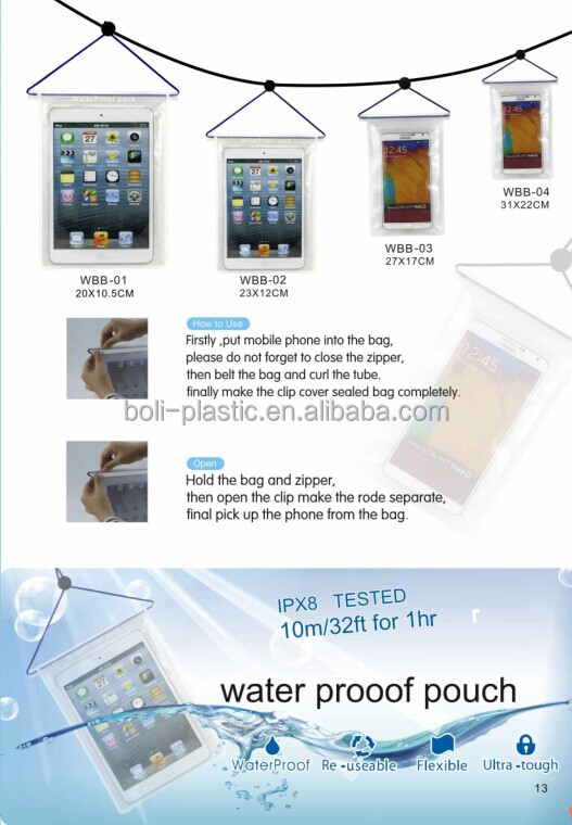 seal bag waterproof bag for IPAD