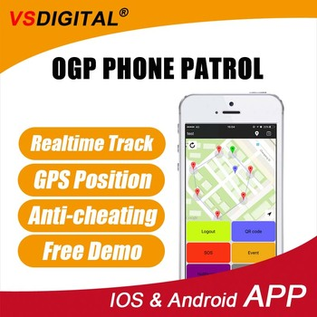 2017 Hot New Porduct OGP Phone Patrol Guard Tour System Scan QR / NFC Tag