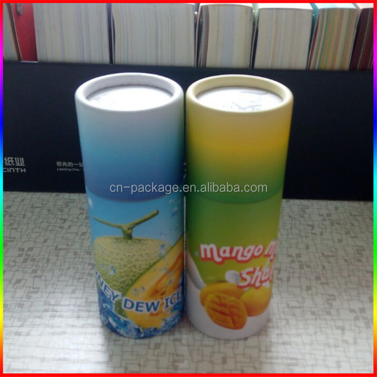 paper tubes and canisters,round paper tube box for olive oil bottle,paper tube packaging e-liquid