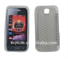 For Samsung C6712 Cell Phone Clear TPU Diamond Case