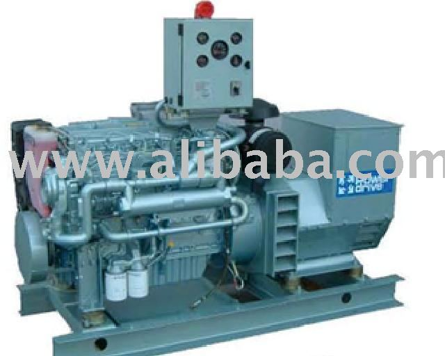 Power Drive Generating Sets (Marine/Power)