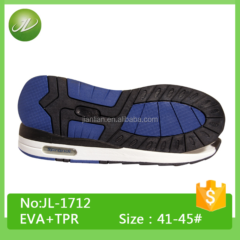 Popular TPR Phylon sole designs TPR outsole