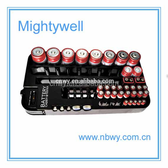 Battery Organizer with battery capacity Tester/ storage/battery organizer