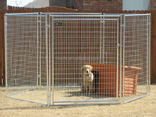 Galvanize Dog Kennel/Welded Dog Run/Outdoor Dog Fence