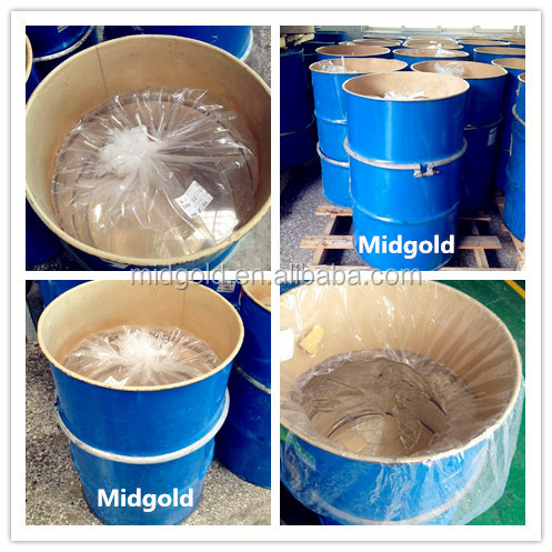 rubber raw material silicone gum for silicone compound making