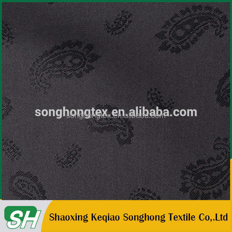 100%T cationic jacquard lining wholesale garment fabric
