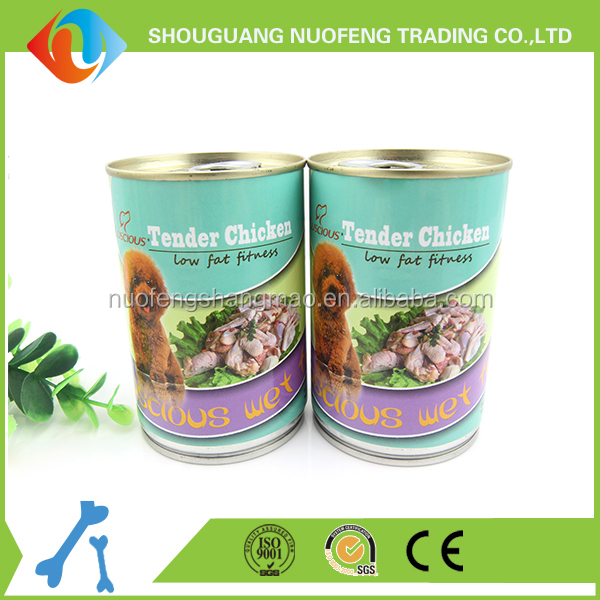 High quality wet food chicken dog canned food