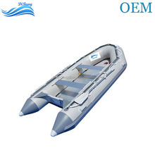 Folding Inflatable Rubber Boats 2.3m PVC Fishing Dinghy For Sale