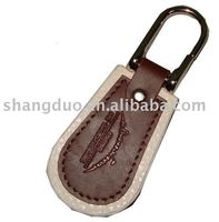 Leather Key Chain ring fob buckle holder