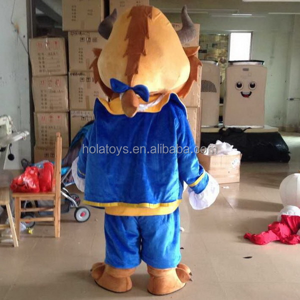 Hola the beauty and the beast costume/mascot costume