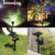 solar lawn light Solar Landscape Lights Outdoor Motion Sensor, Solar Powered Spotlights