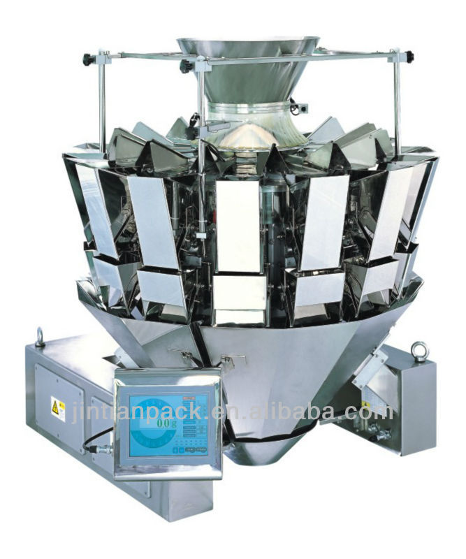 JT-14 14 head multihead weigher for packing