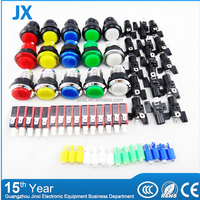 Arcade gaming machine kits led 20mm/24mm/30mm round push button switch
