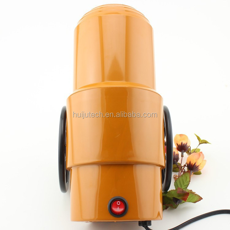 high efficiency cheap price china popcorn machine/orange color hot selling connon design