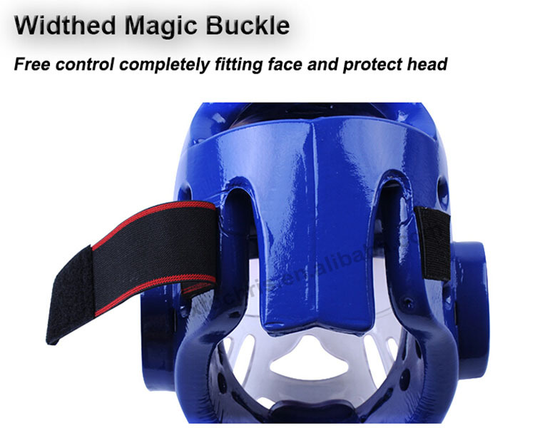 Martial arts sparring gear taekwondo/karate head guard with mask