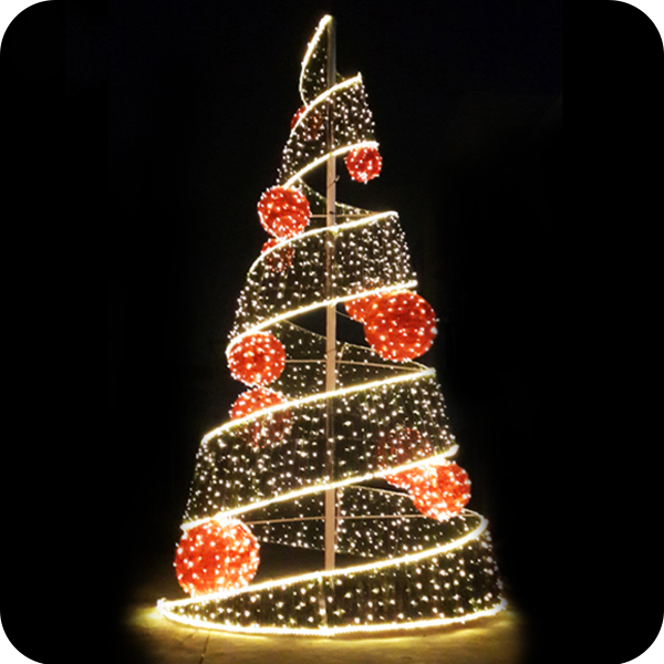 Warm white Giant luces para arbol de navida