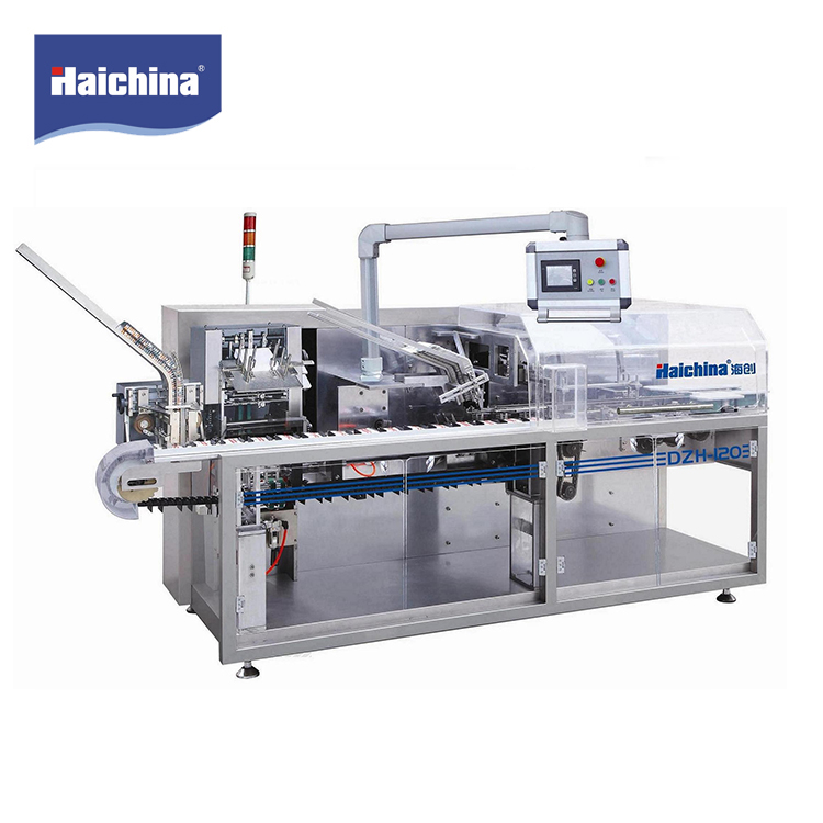 Excellent quality fully automatic paper box particle carton packing machine for medical, food