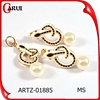 Fashion jewelry mexico snake design pearl jewelry wedding jewelry set