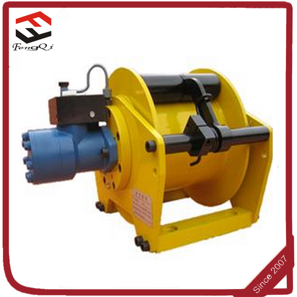 1 Ton Hydraulic Winch with free fall function