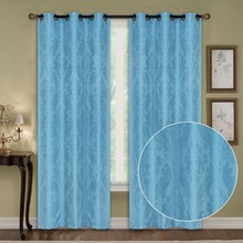 1PC 100% Polyester Jacquard Curtain Fabric /Latest Curtain Fashion Designs