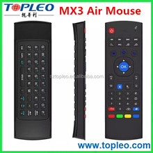 MX3 2.4GHz Wireless Remote Controller 3D Air Fly Mouse&Keyboard For Android TV Box