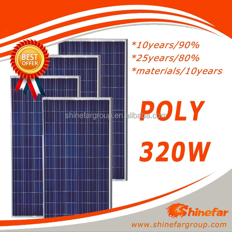 cheapest solar panel Poly 320W Solar Module