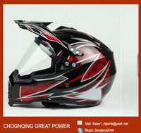 new cross helmet with ABS material for motorcycle