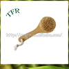 Eco friendly hot sale convenient bamboo boar bristle hair brush