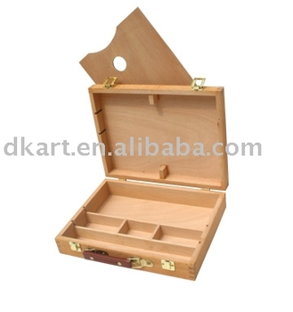 Artist Box Wooden painting easel Wooden easel Studio Art Sketch easel Painting Stand Artist Adjust Wooden Easel Stand