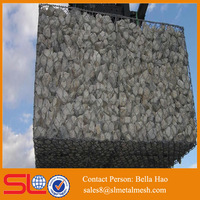 Chicken wire mesh Hexagonal wire netting gabion box retaining wall