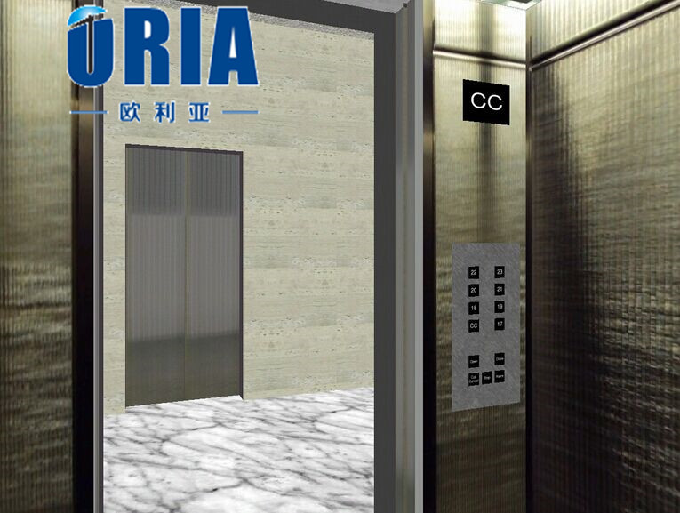 china residential elevator manufacture folding elevator door