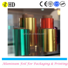 Aluminum foil roll for hair salon nail coloring thickness aluminum foil roll factory price