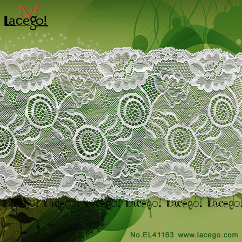 Sexy jacquard lace for nice garment accessory