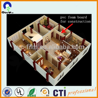 Impact resistance solid PVC foam board for construction