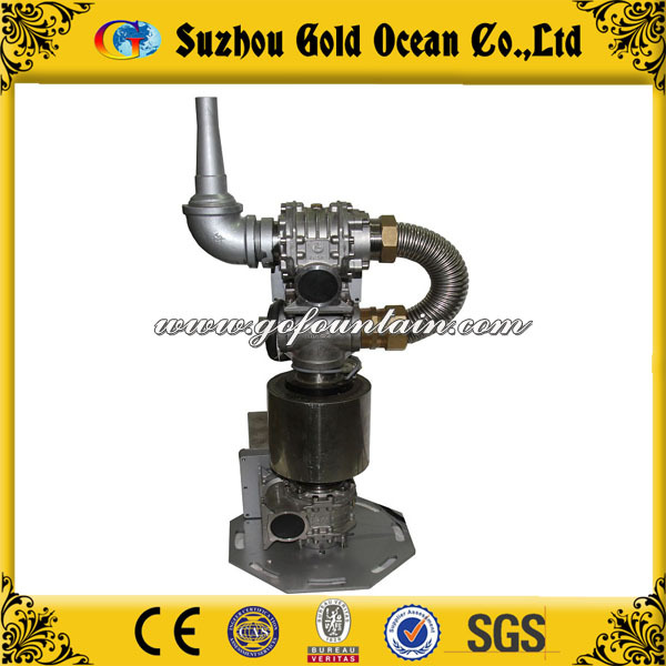 CE & ISO Certified Stainless Steel One Dimensional Swing Fountain Nozzle