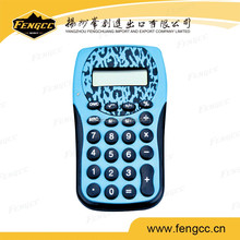 Custom Novelty Design Cheap Calculator Price Colorful Funny Calculator