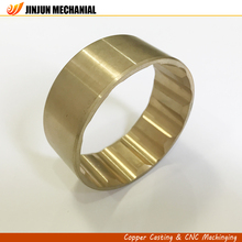 Top quality high precision centrifugal casting auto parts brass bushing