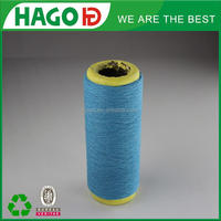 regenerated/recycled polyester cotton yarn 50/50