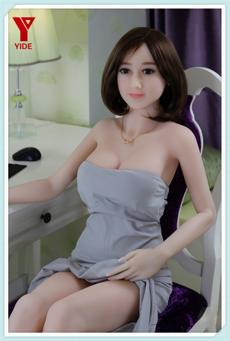 New 165cm full silicone realistic TPE real sex doll with metal skeleton for men breast ass oral vaginal