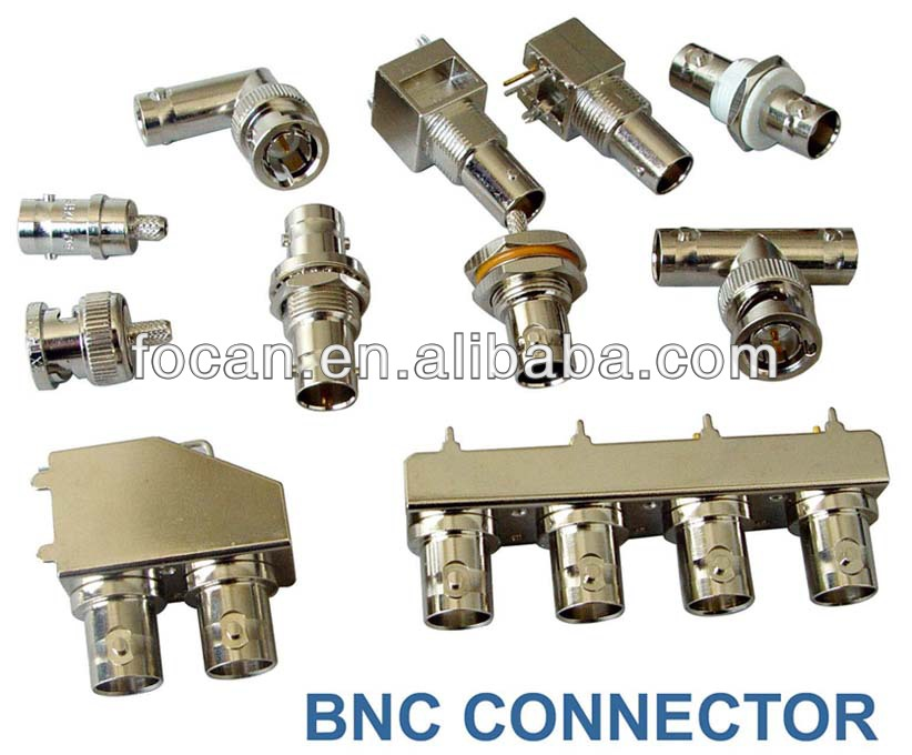 BNC Male chassis mount connector