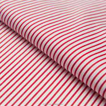 Luthai high quality 100% cotton poplin men's shirt stripe fabric with 60s*60s 210*80