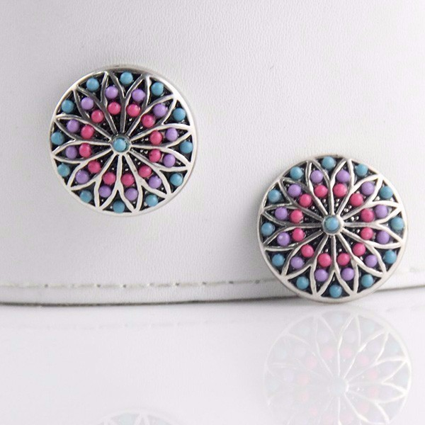 Rhinestones Snap Button Clasp Charms for DIY Craft Bracelets Jewelry Supplies ginger snaps jewelry push button switch