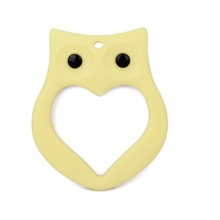 China Manufacturer OEM Soft Food Grade Silicone Baby Owl Teether