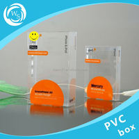 small clear pvc candy box