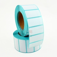 2015 cheap roll direct thermal label,white blank label, barcode label for Zebra 30x15mm